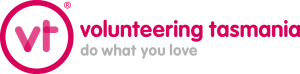 Current logo with tagline - Pink - Registered