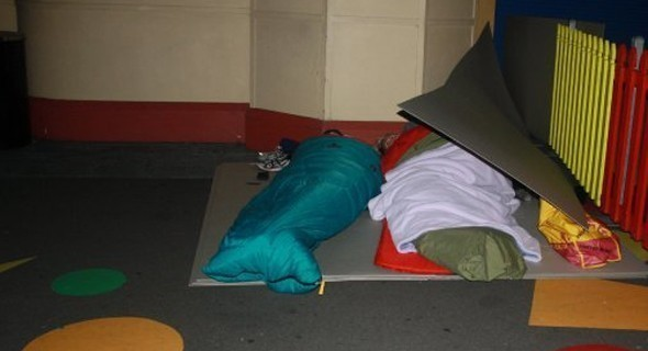 CEOs Sleep Out 2010
