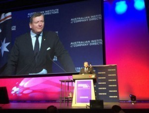 Brogden at AICD Conference