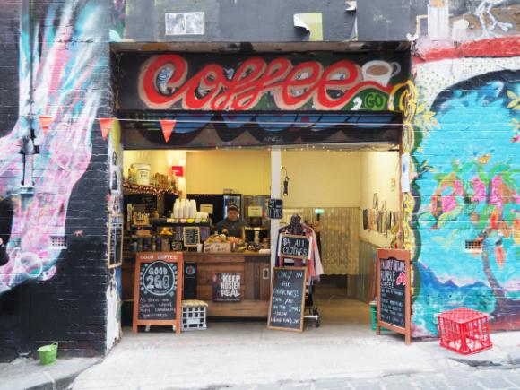 Cafe Hosier Lane
