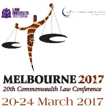 The 20th Commonwealth Law Conference