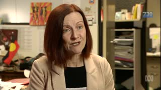 Senator Rachel Siewert on ABC 7.30 Report