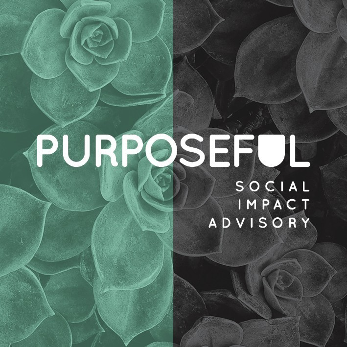 Purposeful Square tagline logo 2016
