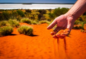 red sand outback Australia RS