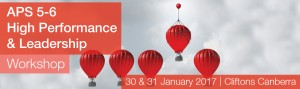 January APS 5-6 High Performance & Leadership Workshop