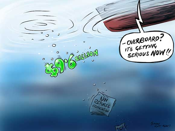 asylum seeker cartoon