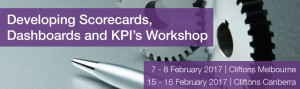 Developing Scorecards, Dashboards and KPI's Workshop