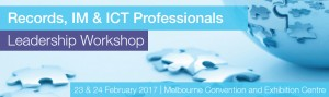 Records, IM & ICT Professionals Leadership Workshop