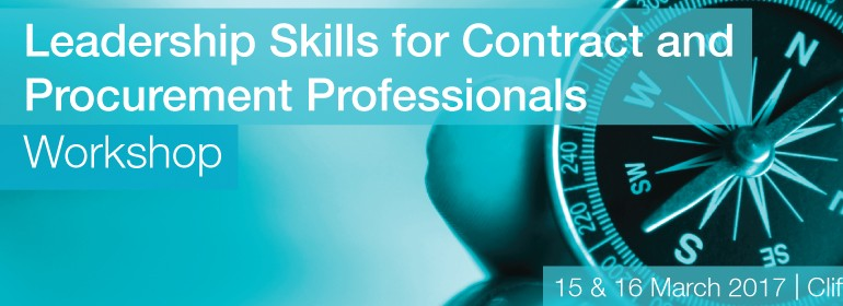 Leadership Skills for Contract and Procurement Professionals Work
