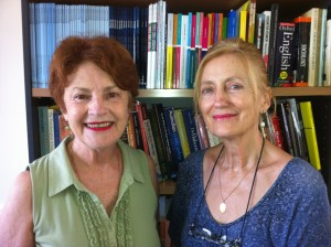 L-R Researchers Sandy Darab & Yvonne Hartman