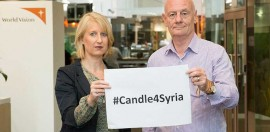 World Vision Calls on Australians to Light a Candle for Syria