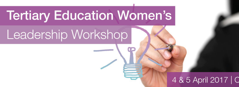 Tertiary Education Women's Leadership Workshop