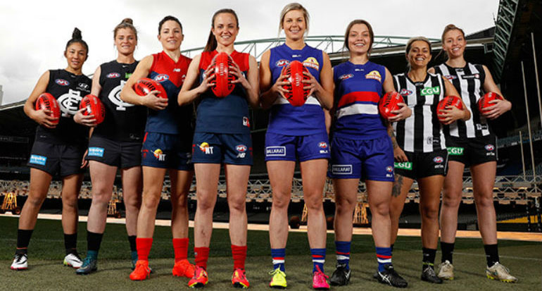 AFL Women's League players