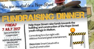 Hope Street Building Fundraising Dinner