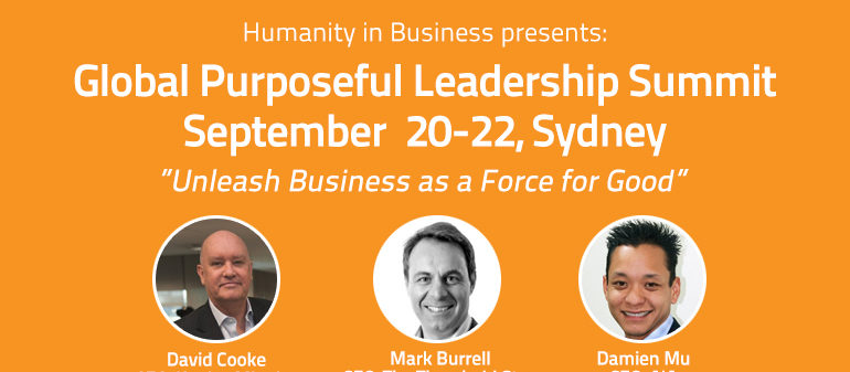 Global Purposeful Leadership Summit