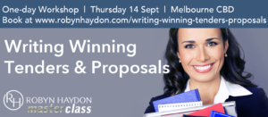 Master Class: Writing Winning Tenders & Proposals