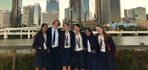 ChangeMakeHers leading the way: From left to right it's Radhika Peddibhotla, Ava Bastow, Ivana Santic, Maeve Lu, Fathima Nooru-Mohamed and Maja Wilbrink.