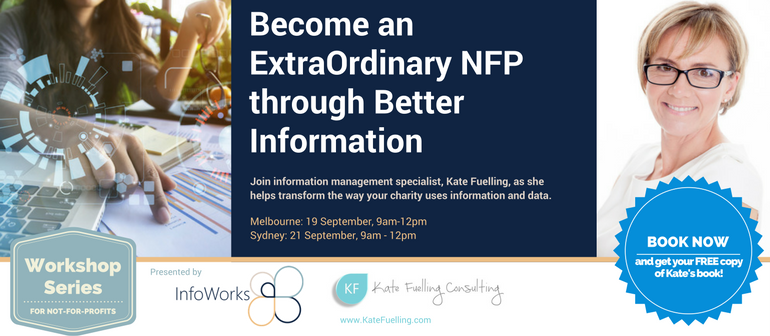 Become an ExtraOrdinary NFP through Better Information (Sydney)