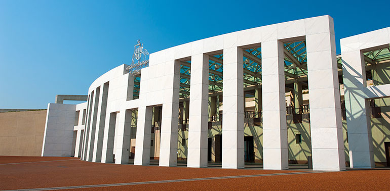 House of Representatives, Canberra