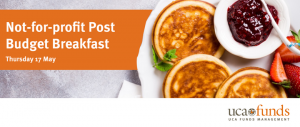 Not-for-profit Post Budget Breakfast