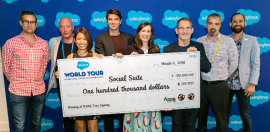 Social Impact Measurement Startup Wins US$100K Pitch Comp