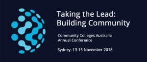 Community Colleges Australia 2018 Annual Conference