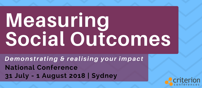 Measuring Social Outcomes Conference