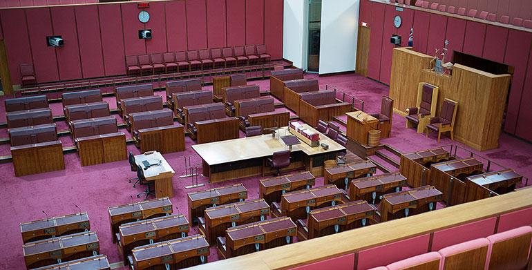 empty senate