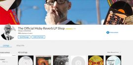 Moby Records Are Music to Charity's Ears
