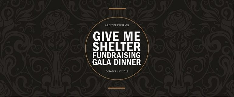 Give Me Shelter Fundraising Gala Dinner 2018