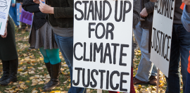 Social sector demands climate action on the eve of the election