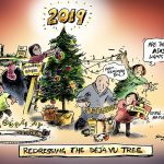 Redressing the Deja Vu Tree Cartoon