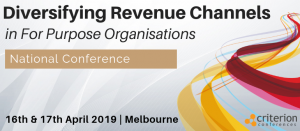 Diversifying Revenue Channels in For Purpose Organisations