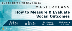 How to Measure & Evaluate Social Outcomes Masterclass