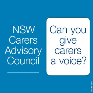 NSW Carers Advisory Council Member