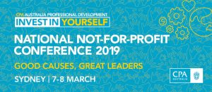NATIONAL NOT-FOR-PROFIT CONFERENCE 2019
