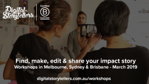 Smartphone Storytelling for Impact Workshop