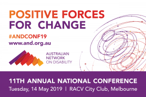 Australian Network on Disability's Conference 2019