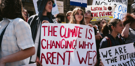 Aussie Students Strike for Climate Change Action