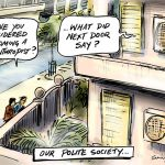 Our polite society cartoon