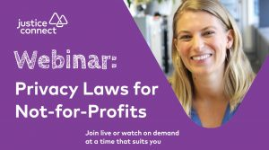 Privacy Laws for Not-for-profits Webinar