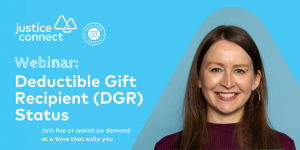 Deductible Gift Recipient (DGR) Status Webinar