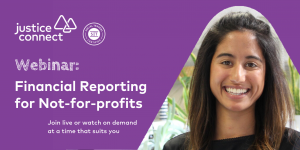Financial Reporting for Not-for-profits Webinar