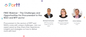Challenges & Opportunities for Procurement in NGO and NFP sector