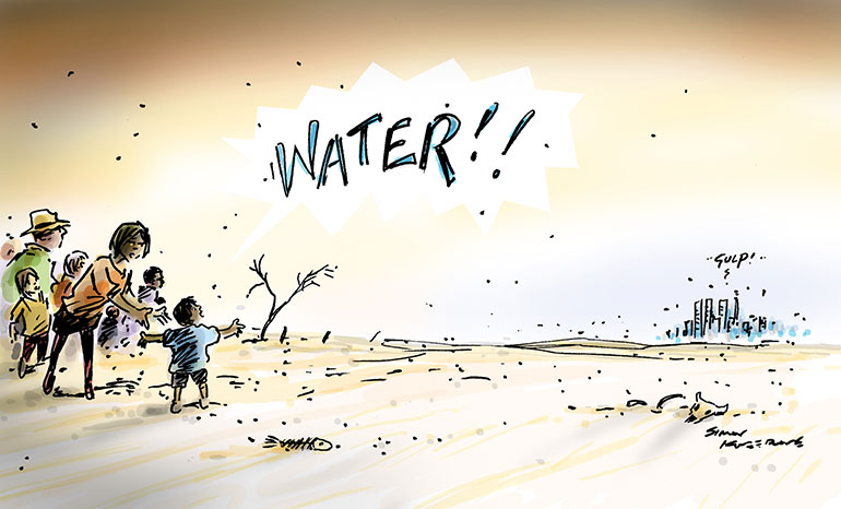water cartoon