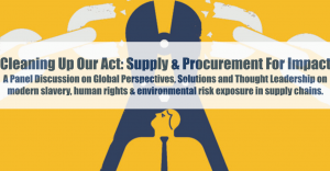 Cleaning Up Our Act: Supply & Procurement For Impact