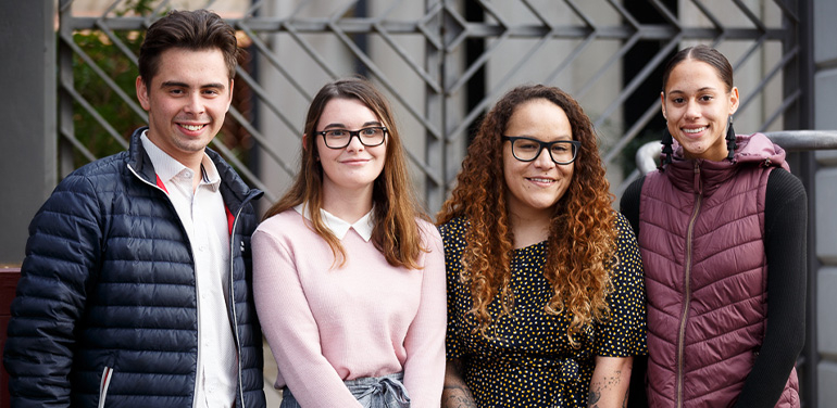 2019 recipients of Community Sector Banking's Indigenous Scholarship Program