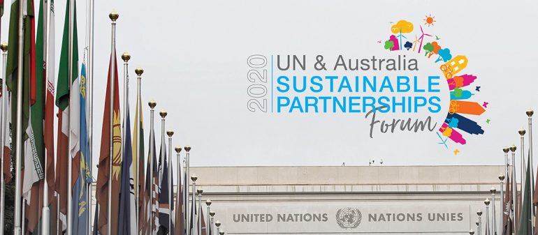 UN & Australia Sustainable Partnerships Forum 2020