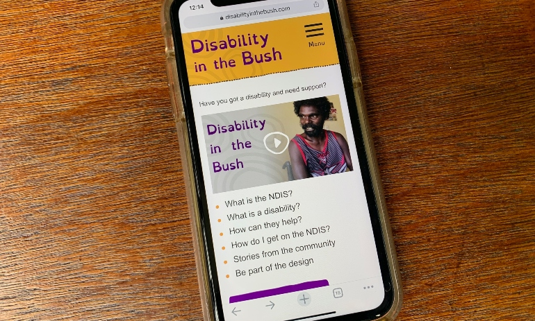 Disability in the Bush app