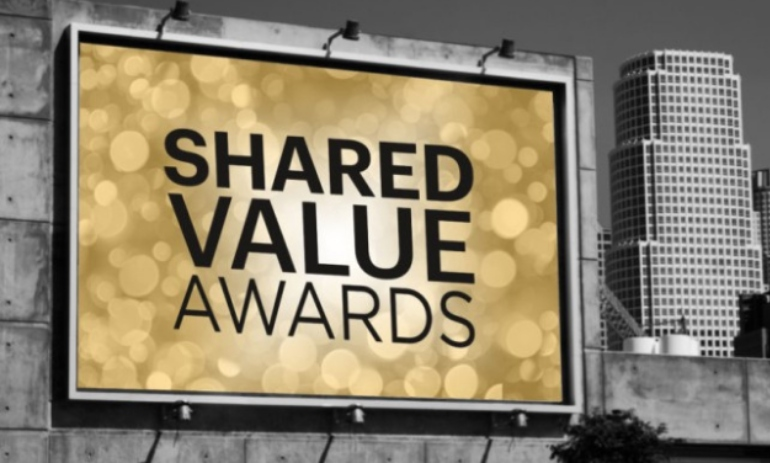 Shared Value Awards billboard